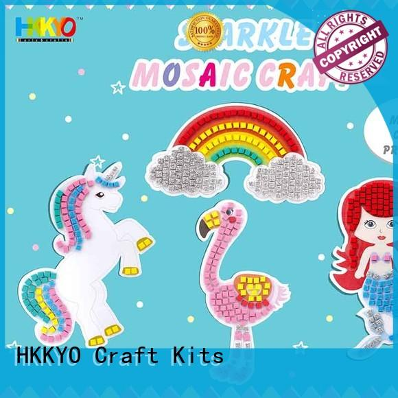 unique kit craft scratch paper colorful for gifts
