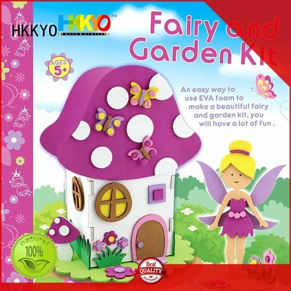lovely craft kits for kids fairy house manufacturer for art