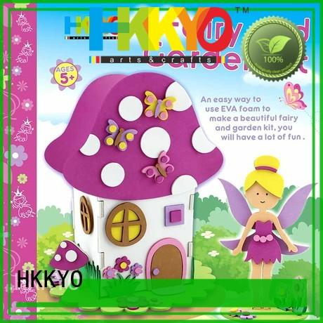 creative craft kits fairy house wholesale for children