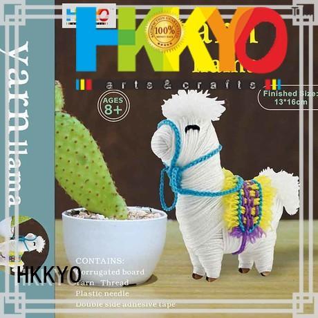 HKKYO creative christmas craft kits wholesale for kids