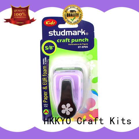 HKKYO ABS & Zinc Alloy paper shape punch manufacturer for cell phone decoration
