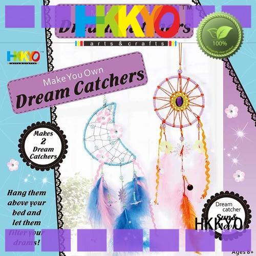 HKKYO thread christmas craft kits for business for girls