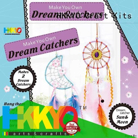HKKYO beautiful christmas craft kits thread for girls