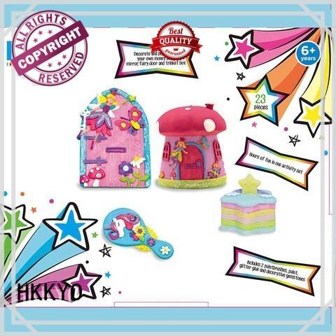HKKYO waterproof craft kits for kids DIY for birthday gifts