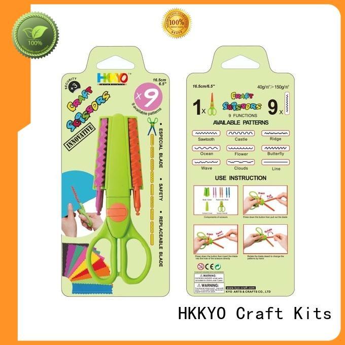 hands-on craft scissor set incredible for DIY crafts HKKYO