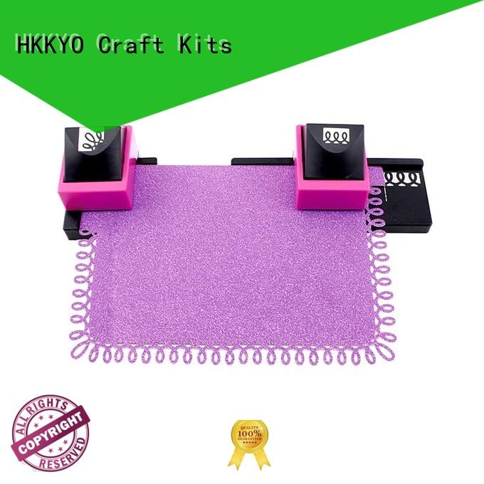 HKKYO around corner craft hole punch wholesale for greeting card