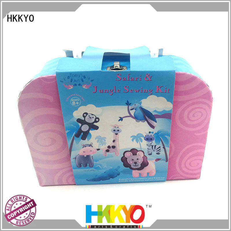 HKKYO beautiful craft sets for adults educational for rainy day craft