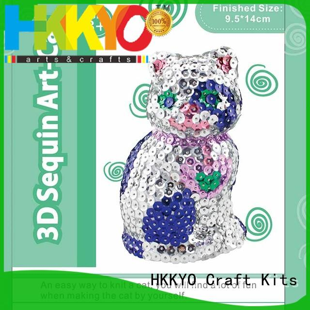 colorful art craft set DIY for teenager HKKYO