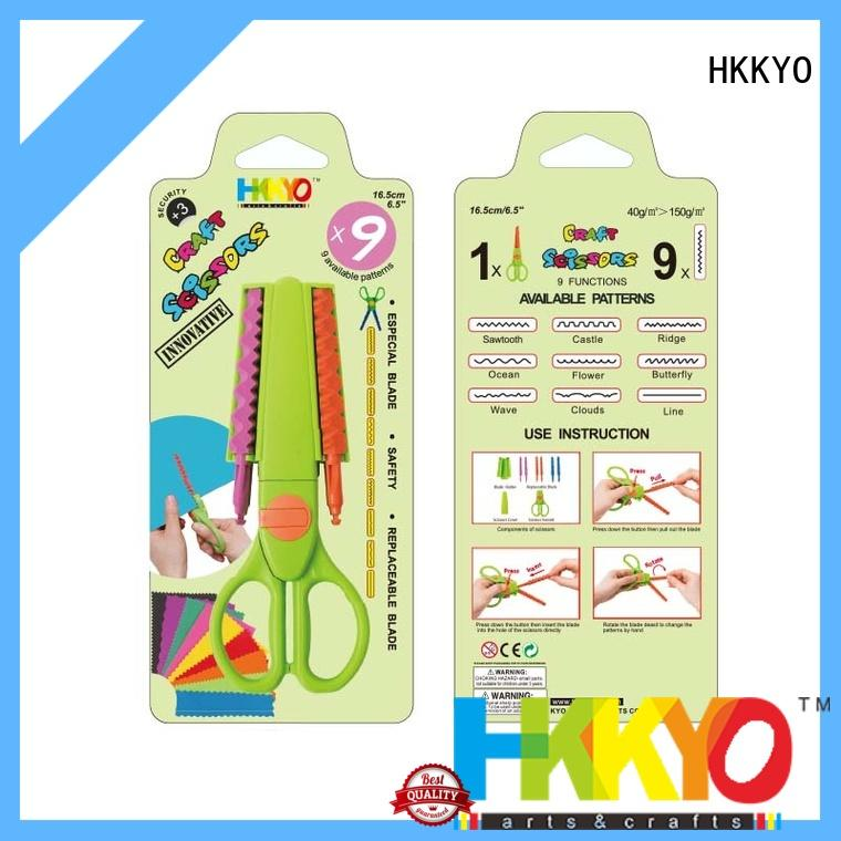 HKKYO hands-on craft scissors shapes incredible for art & craft lovers