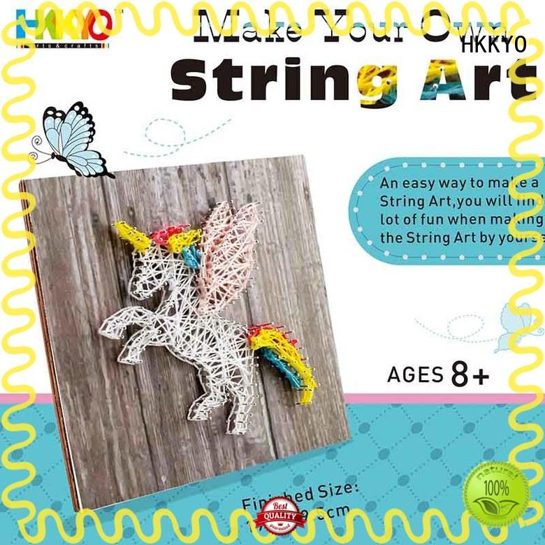 HKKYO easy-to-do craft sets for girls fun new patterns for decoration