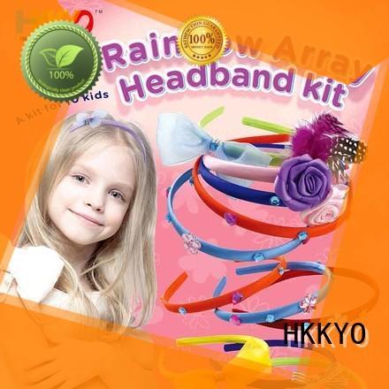 HKKYO headbands arts and crafts kits manufacturer for DIY craft