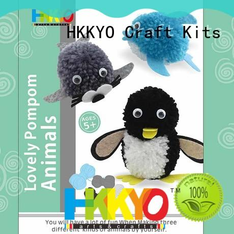 easy-to-do arts and crafts kits yarn long service life for birthday gifts