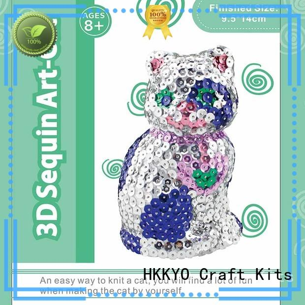 HKKYO kit craft sets for girls manufacturers for family activities