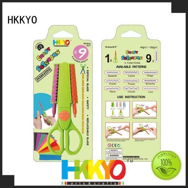 HKKYO many patterns kids craft scissors incredible for art & craft lovers