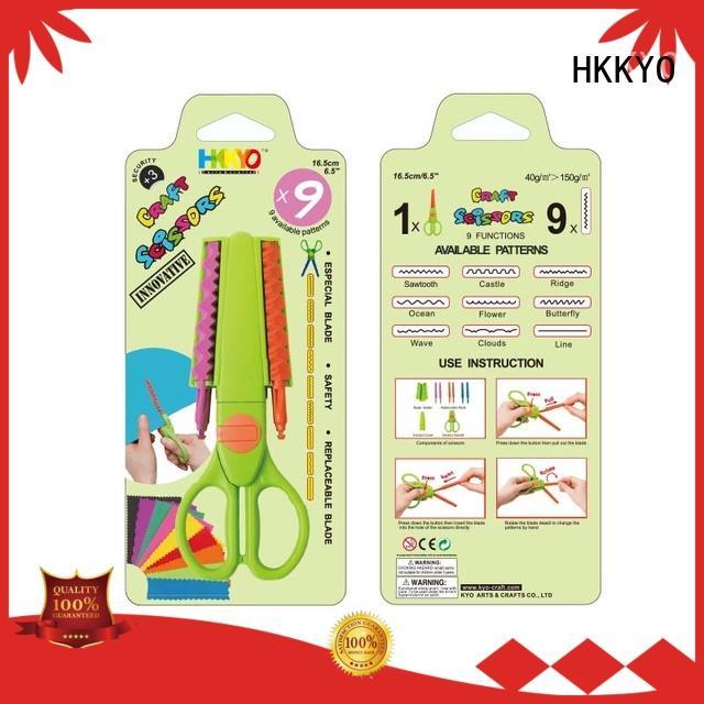 HKKYO hands-on kids craft scissors educational for art & craft lovers