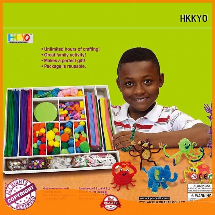 educational scrapbooking set Pom Pom DIY for family activity