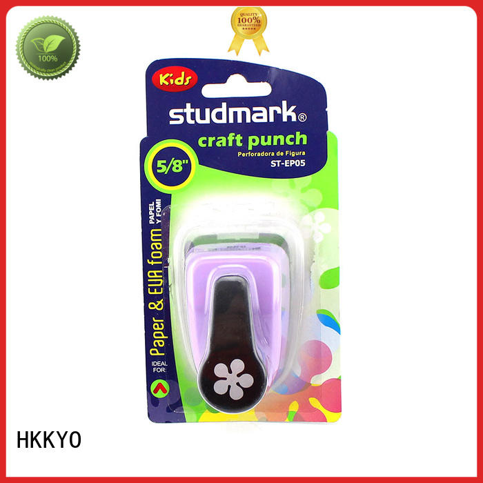 HKKYO easy to use paper punch shapes supplier for gifts