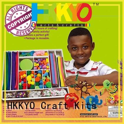 HKKYO animal craft toy craft kits Supply for family activity