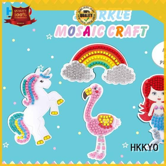 HKKYO paper template kit craft manufacturer for greeting card