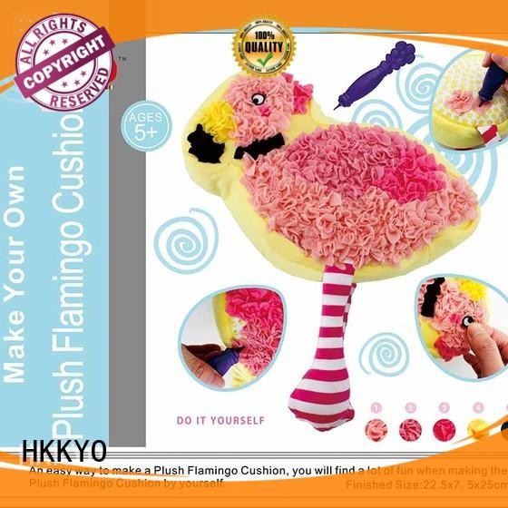 alpaca art craft set DIY for kids HKKYO