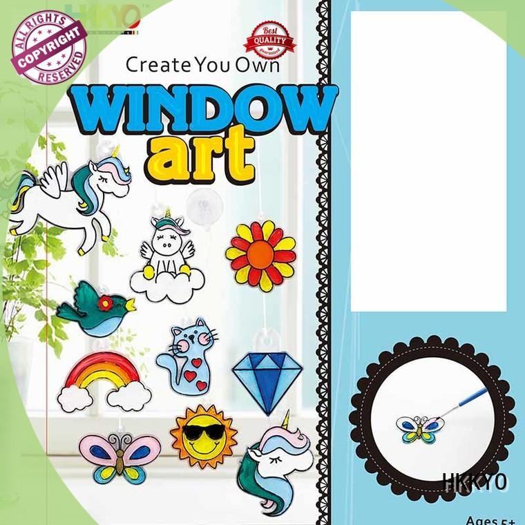 suncatcher scrapbook kit for girls easy-to-do for decoration HKKYO