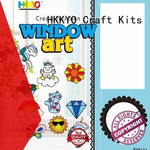 HKKYO coloring craft sets manufacturer for painting craft