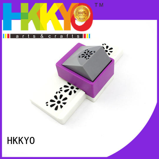 multi colors edge punch wholesale for greeting cards HKKYO