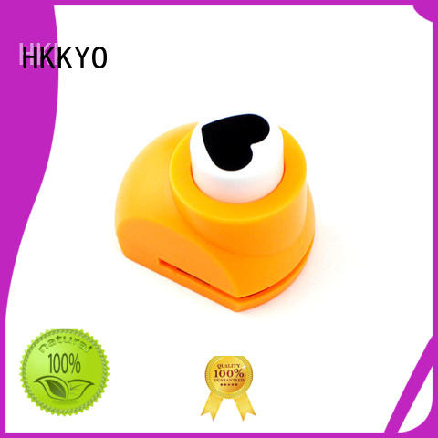 HKKYO colorful paper punches for scrapbooking manufacturer for kids DIY artwork