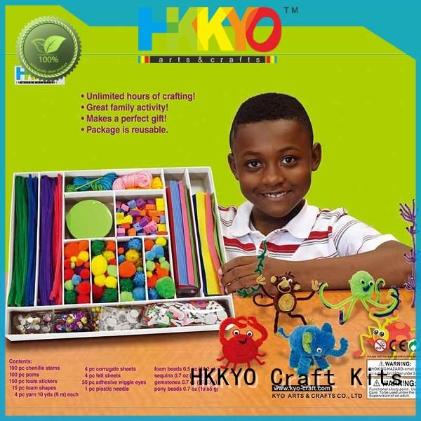 educational toy craft kits felt manufacturer for making decoration