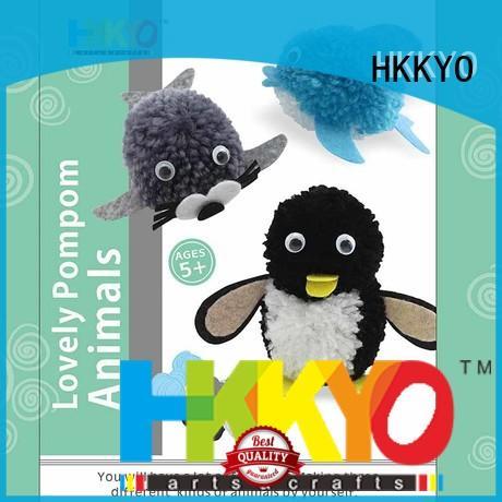 HKKYO yarn craft kits wholesale for DIY craft