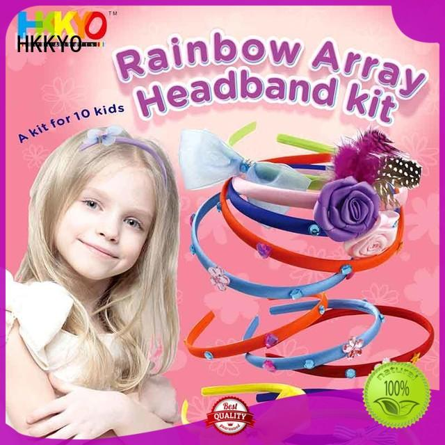 hair accessories arts and crafts kits rainbow for Christmas gift