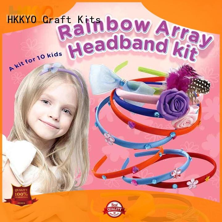 Latest arts and crafts kits headbands Supply for girls