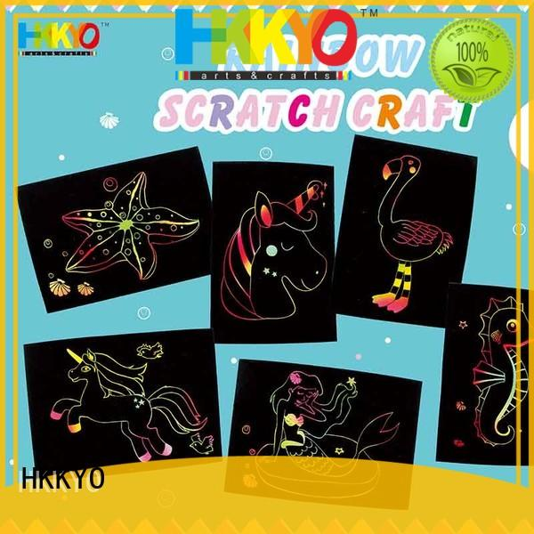 HKKYO beautiful craft kits for kids creative for greeting card
