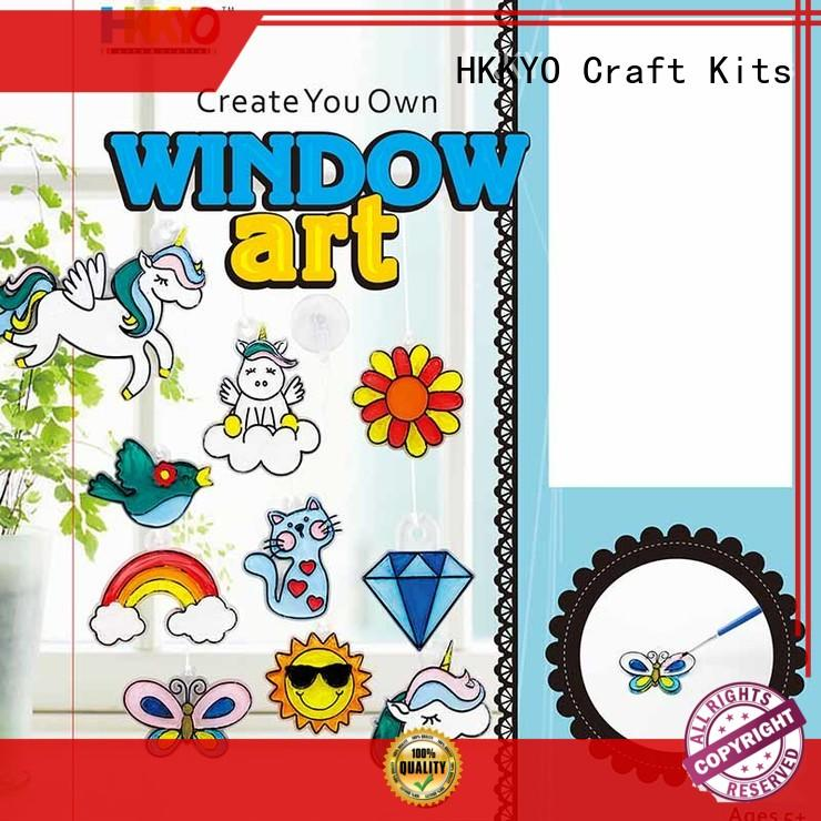 HKKYO New craft kits for adults company for window art