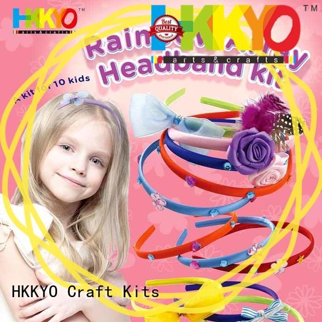 HKKYO headbands scrapbook page kits factory for Christmas gift