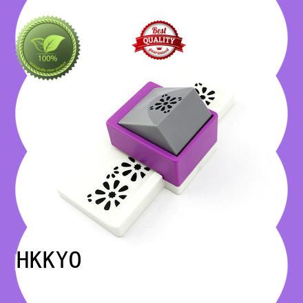 HKKYO ABS & Zinc Alloy paper edge punch long service life for DIY scrapbook