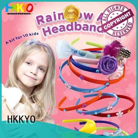 HKKYO rhinestones scrapbook page kits rainbow for DIY craft