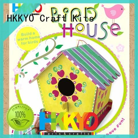 Wholesale scrapbooking kits wooden MDF company for painting craft