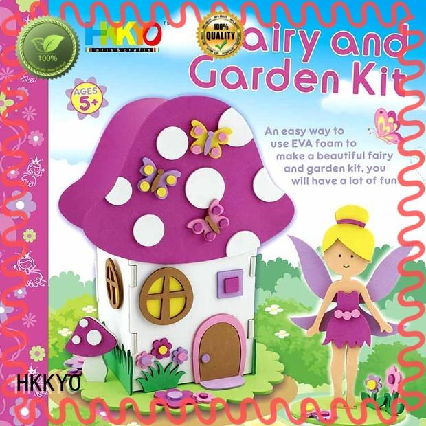 HKKYO hand sewing craft gift sets EVA foam for Christmas gift