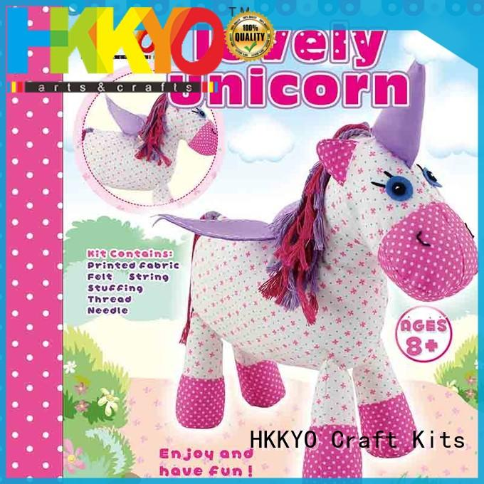 HKKYO colorful scrapbook set alpaca for kids