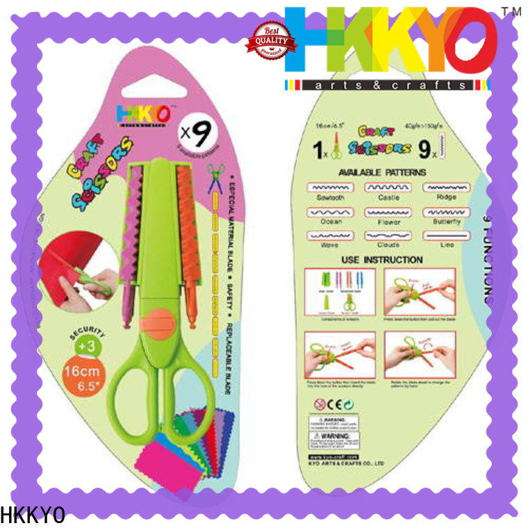 HKKYO many patterns craft scissors shapes company for art & craft lovers