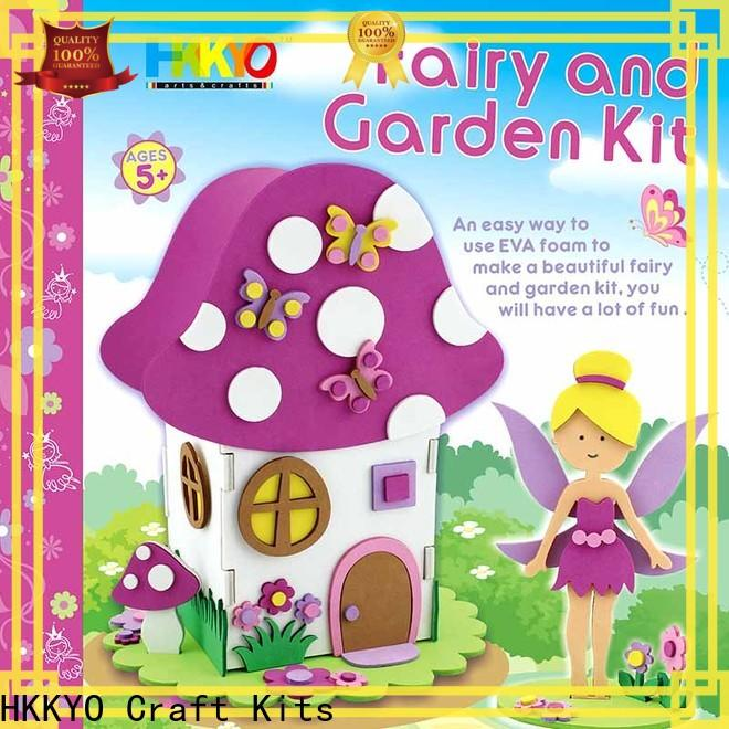 HKKYO fairy house craft kits company for art