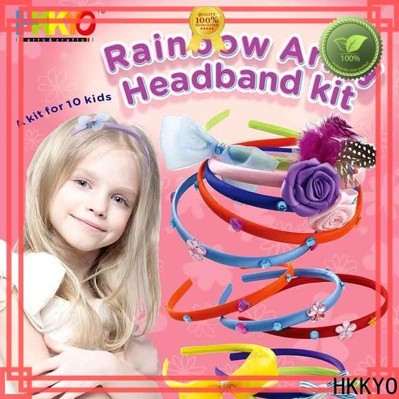 Latest craft sets for kids ribbon Supply for Christmas gift