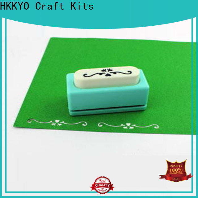 HKKYO embossing edge punch company for paper craft