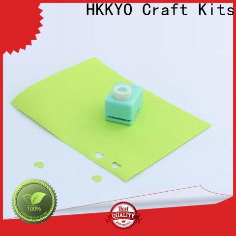HKKYO High-quality scrapbook hole punch factory for kids DIY artwork