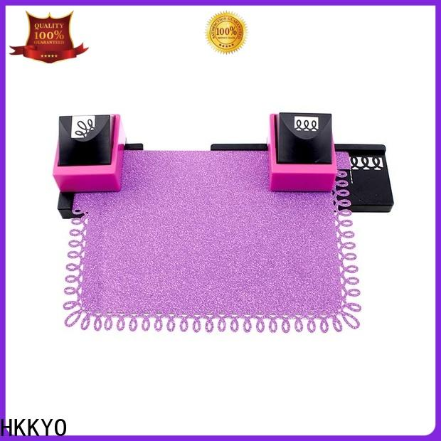 Best paper punch set ABS & Zinc Alloy company for holiday gifts