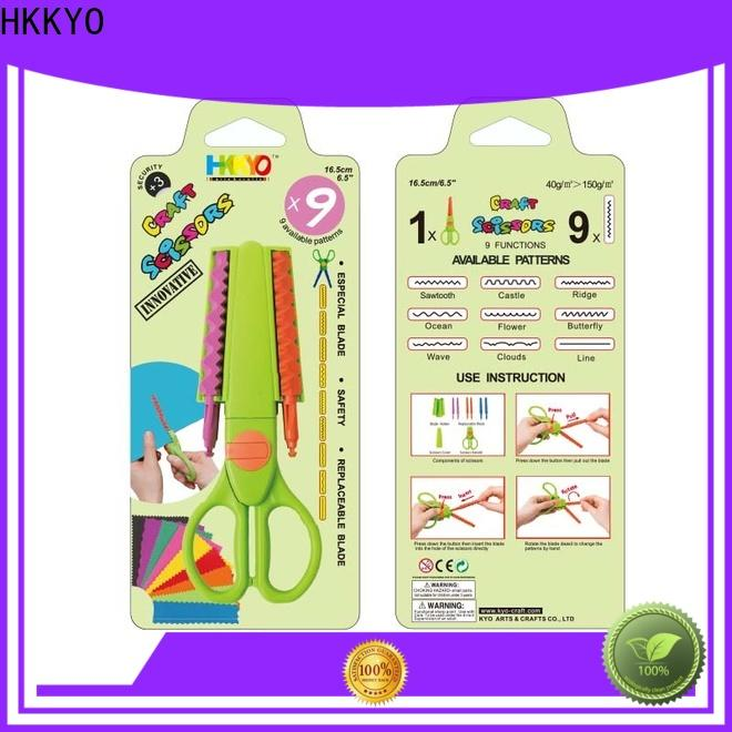 HKKYO blade craft scissors set Supply for gifts wrapping