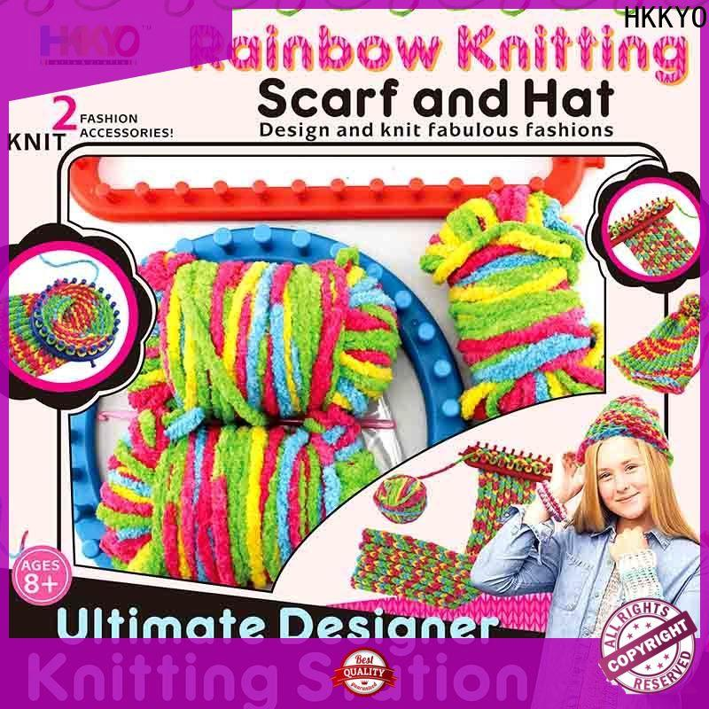 HKKYO scarf knit scrapbook kits for sale manufacturers for knit craft