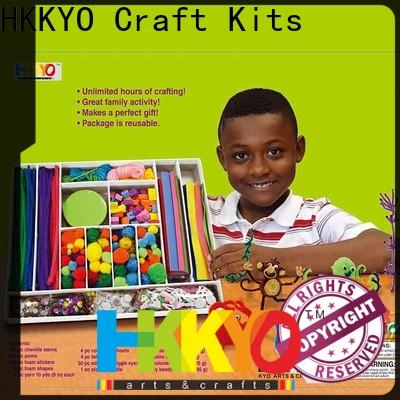 HKKYO Custom toy craft kits company for family activity