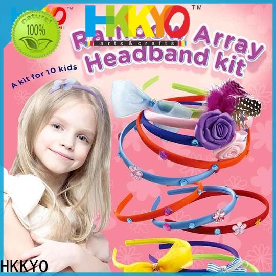 New craft sets for kids ribbon manufacturers for head